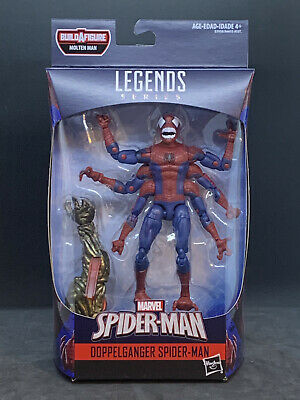 "Marvel Legends 6"" Spider-Man Far From Home Wave 1 - Doppelganger MOLTEN MAN BAF"