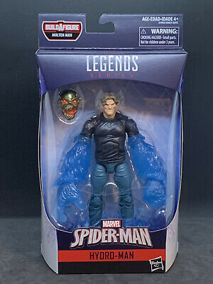 "Marvel Legends 6"" Spider-Man Far From Home Wave 1 - Hydro Man (MOLTEN MAN BAF)"
