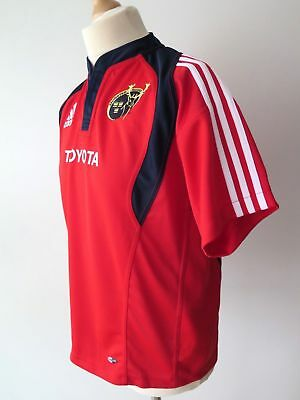 ADIDAS CLIMACOOL MUNSTER Rugby Toyota Youth Jersey Shirt Size 16 Y. XL 176cm