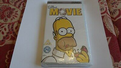 The Simpsons Movie UMD PSP new SEALED