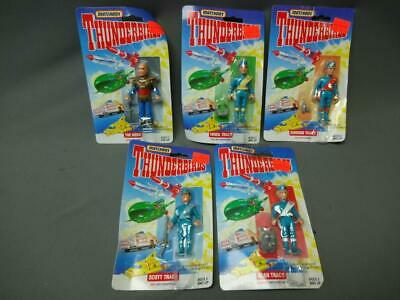 Matchbox Thunderbirds Lot Of 5 Hood Virgil Gordon Scott Alan Tracy Sealed