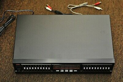Fisher EQ-890 Graphic Equalizer in box.