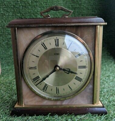 Vintage Retro 1960s Metamec Quartz Mantle Carriage Clock - marked 213