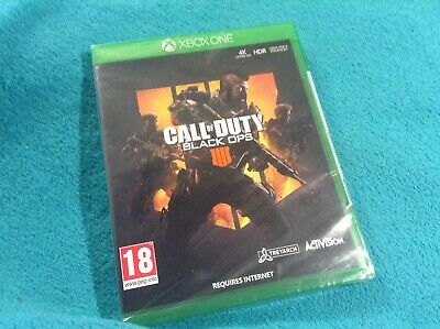 💥 Call of Duty Black Ops IIII / 4 Xbox ONE Game. • BRAND NEW • SEALED • WRAPPED
