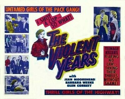 the violent years 1956 jean moorhead dvd
