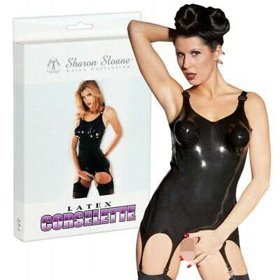 Latex-Strapscorsage Bustino guepierre lingerie sexy donna intimo sexyshop Alta q