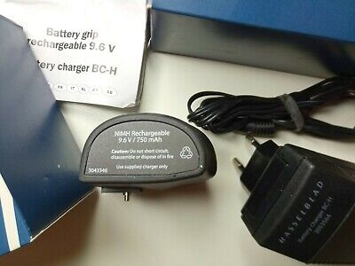 HASSELBLAD BATTERY CHARGER BC-H Li-ion 3053564 with BATTERY AND ADAPTERS BOXED