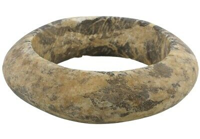 Antique West African stone granite bracelet Armband Currency Mali Dogon Sahara