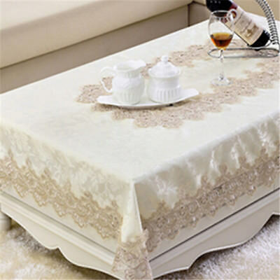 Vintage Boho Tablecloth Table Cover Tea Bedside Cloth Cover Party Deocration LJ