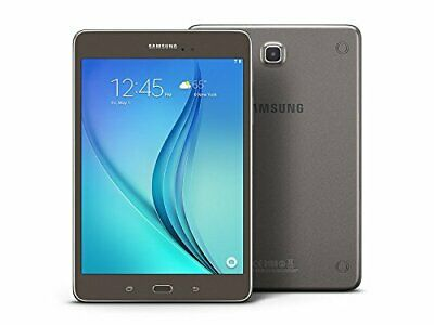 "Samsung Galaxy Tab A SM-T350 8"" 16GB Smoky Titanium Android WiFi Tablet PC"