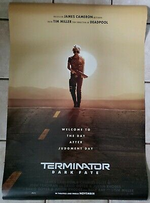 Terminator Dark Fate 27x40 Double Sided Movie Theater Teaser Poster