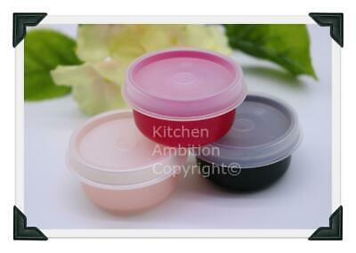 Brand New TUPPERWARE Smidgets® Set of 3 Mini Containers 1 oz Bowls FREE SHIP