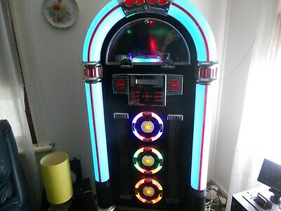 Jukebox  BYL-12 Full Size with CD Storage box (stand) 159cm Tall with stand.