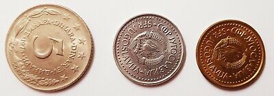 YUGOSLAVIA COINS. 29 X 70's  circulated coins.