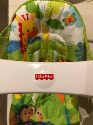 Fisher-Price Colourful Carnival Take Along Swing And Seat With Vibration Mode