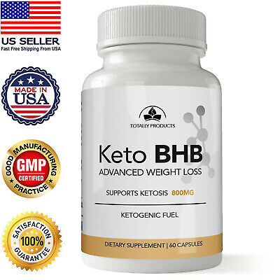Keto BHB Diet Pills Weight Loss Fat Carb Block 60 Caps Advanced Free Shipping
