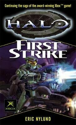 NEW Halo : First Strike By Eric Nylund Paperback Free Shipping