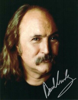 David Crosby 8x10 Reprint Autographed Signed Photo