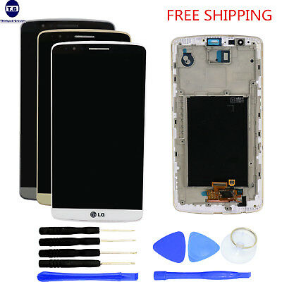 LCD Screen Display+Digitizer Touch+Frame+Tools For LG G3 D850 D851 D855 VS985