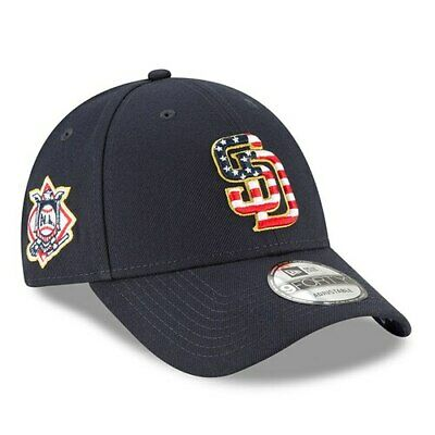 timeless design f5555 b224d New Era San Diego Padres Navy 2018 Stars   Stripes 4th of July 9FORTY  Adjustable