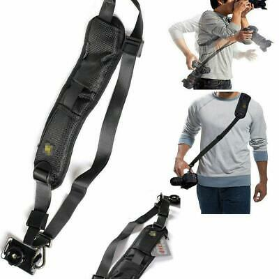 QUICK STRAP Camera Single Shoulder Belt Sling SLR DSLR Cameras NikonL Sony Q1N0