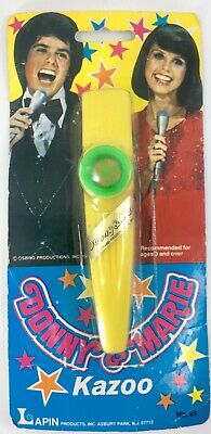 Donny And Marie Kazoo - Vintage And Still In Unopened Package 1977 Rare New