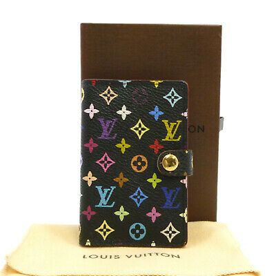 Auth LOUIS VUITTON Carnet De Bal Mini Agenda Cover Multi-Color M92652 #S305071
