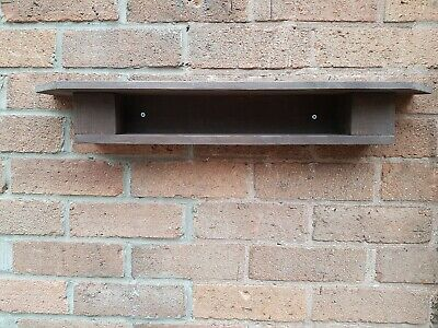 Rustic Shelf Wall Reclaimed Wooden Antique Cottage Style Vintage Style