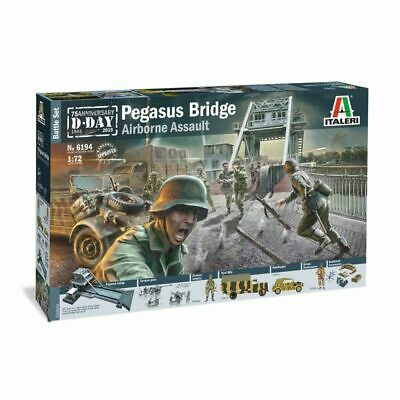 Italeri Ital6194 Pegasus Bridge - D.Day 75e Ann.1944-2019 1/72