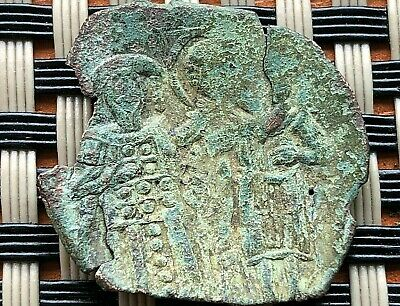Michael Viii Paleologus 1261-1282 Ad Ae Trachy Constantinople Mint.