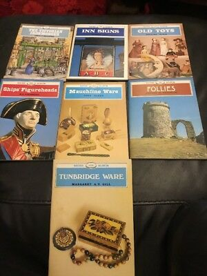 Collection Of 7 Shire Albums, Innsigns, Old Toys, Follies, Tunbridge, Mauchline+