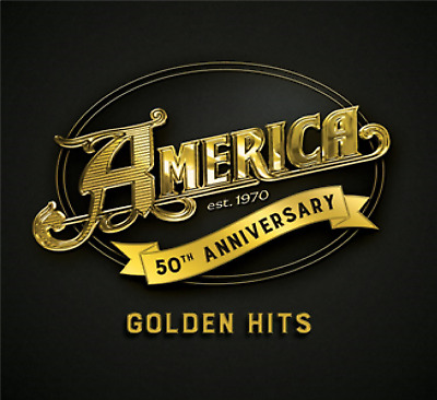 America  America 50: Golden Hits Double Vinyl  New (12Th July)