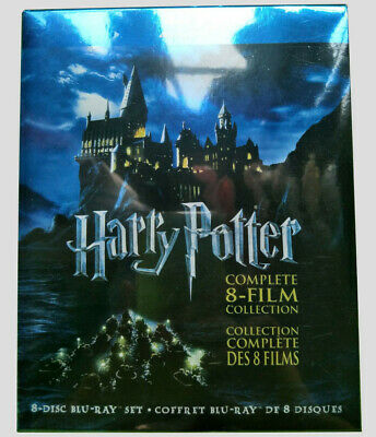 Harry Potter Complete 8-Film Collection (8-Disc Set BLU-RAY) Brand NEW USA sell!