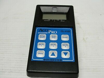 Rochester Accupro Current Calibrator CL-4102.
