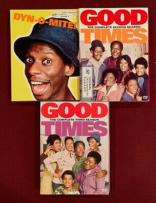 GOOD TIMES: The Complete First, Second, & Third Season - 9 DVD Set - Jimmy