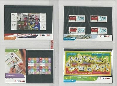Netherlands Davo PTT Album, Mint NH Stamps & Sets, 12 Hingless Pages, 2002-03