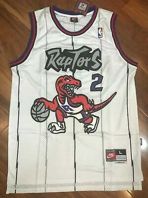 Men's Kawhi Leonard Toronto Raptors Throwback Swingman Jersey White Size S-XXL