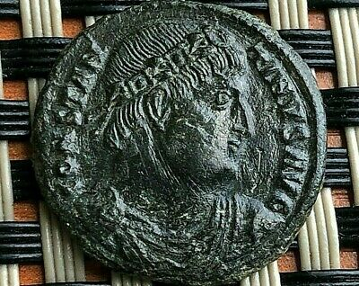 Constantine I The Great 308-337 Ad Ae Follis Camp Gate Ancient Roman Coin