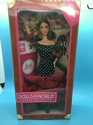 2012 Dolls of the World Spain Passport collection Barbie doll