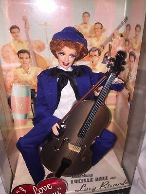 """I Love Lucy Barbie Doll 2007 Episode 6 """"The Audition"""" Barbie Collector"""