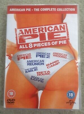 American Pie -All 8 Pieces Of Pie- The Complete Collection, 8 disc DVD box set