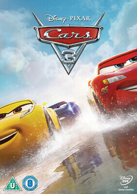 Cars 3 DVD (2017) Brian Fee cert U ***NEW*** Incredible Value and Free Shipping!