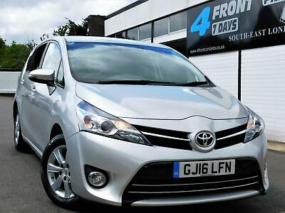 2016 Toyota Verso 1.6 D-4D Icon 5Dr Mpv (Tss, 7 Seats) Manual Diesel Ulez Exempt