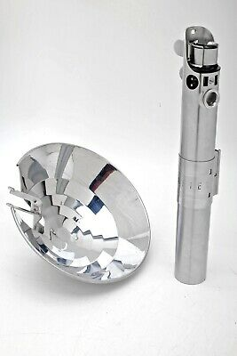 Graflex 3-Cell Flash handle Red Button Star Wars LightSaber+Reflector++BEAUTIFUL