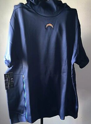 low priced d744e f547e NIKE LOS ANGELES Chargers Lightweight Quarter-Zip Therma ...