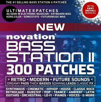*NEW for 2019* 300 NOVATION BASS STATION II ULTIMATE PATCHES: Vol 1-2 Bundle