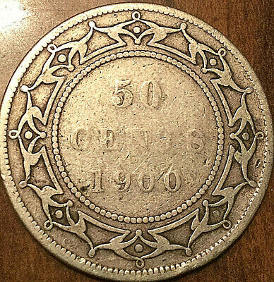 1900 Newfoundland Silver 50 Cents