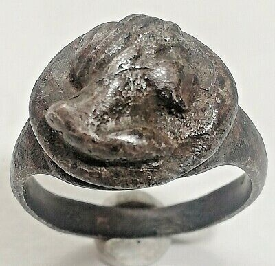 Authentic Antique Roman Silver Ring