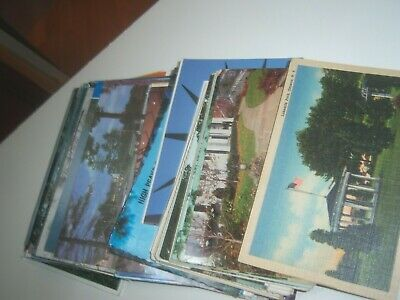 Mixed Lot 80+ New York Vintage & Antique Postcards NY Standard & Continental