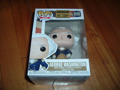 Funko Pop! George Washington #09~ New~ Mint Condition~ American History Series~